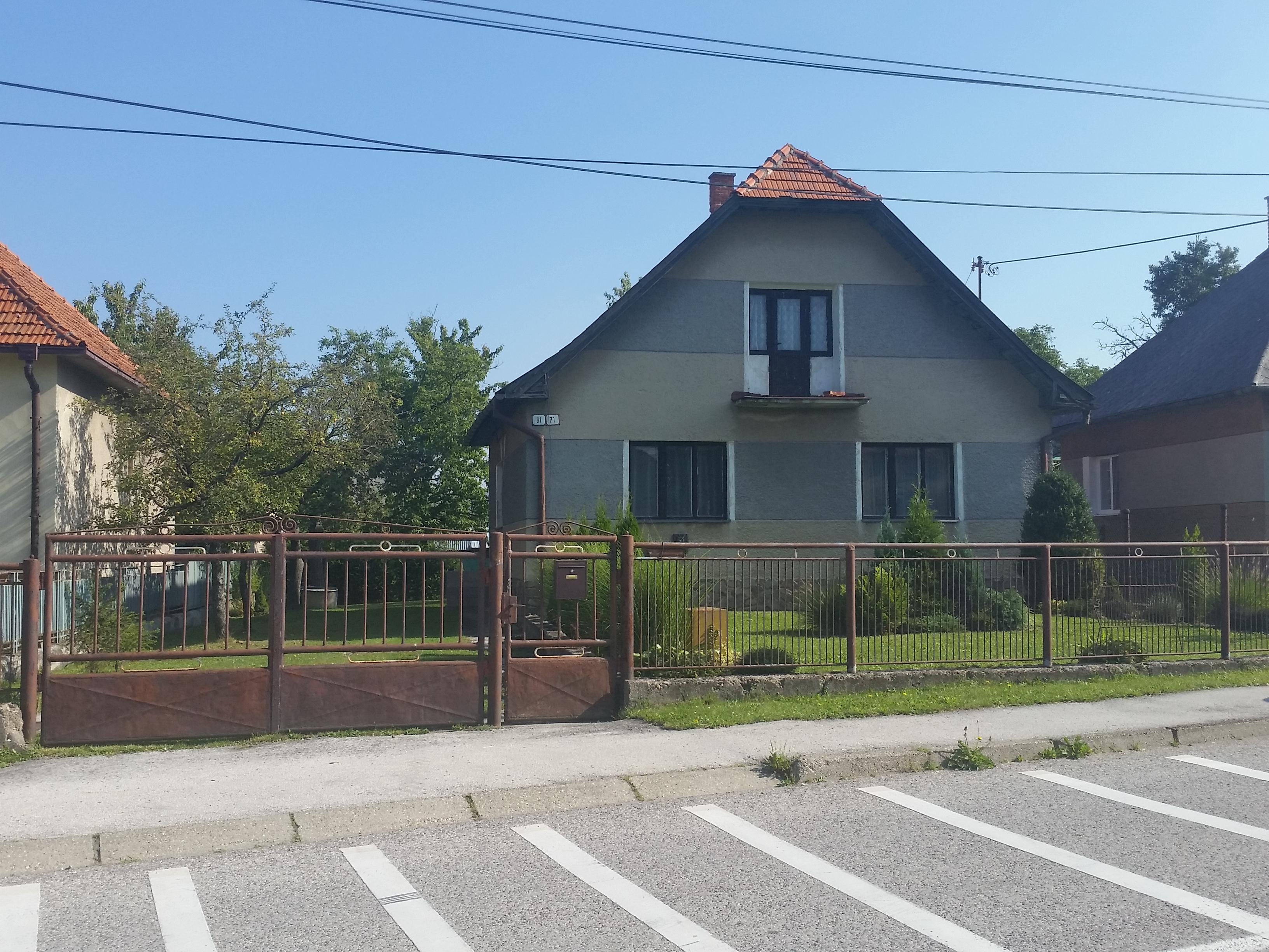 Dražba rodinného domu v obci Lehota pod Vtáčnikom, okres Prievidza